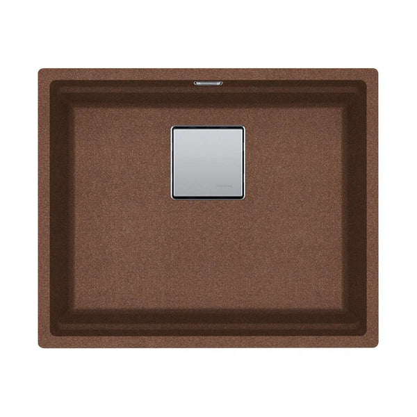 Franke Kubus KNG 110-52 Fragranite 1.0 Bowl Undermount Sink, Copper Gold | 125.0539.722