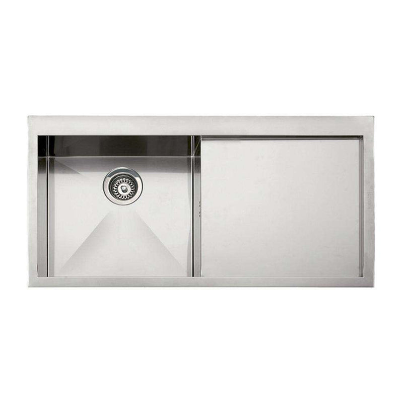 Franke Planar PPX 211 Slim-Top Right Handed Stainless Steel 1.0 Bowl Inset Sink | 127.0203.464