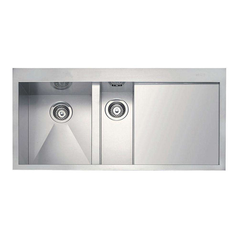 Franke Planar PPX 251 Slim-Top Right Handed Stainless Steel 1.5 Bowl Inset Sink | 127.0203.467
