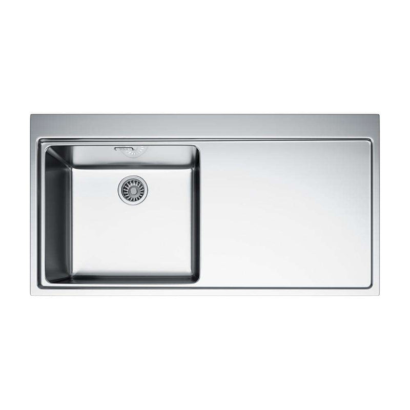 Franke Mythos MMX 211 1.0 Bowl Slim-Top Right Handed Stainless Steel Inset Sink | 127.0364.671