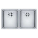 Franke Maris MRX 220 34-34 Stainless Steel 2.0 Bowl Inset Sink | 127.0531.913