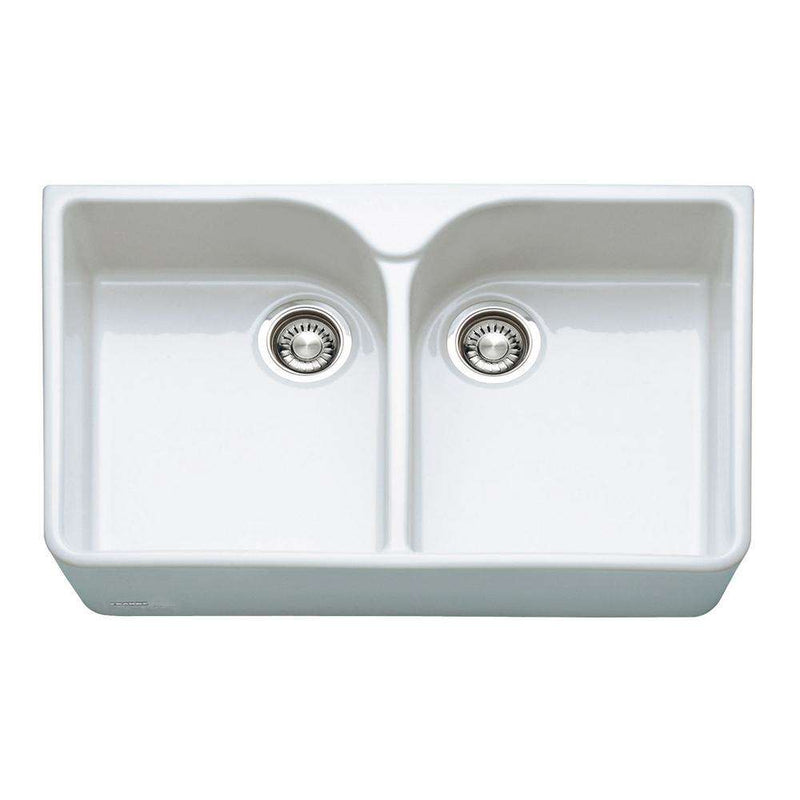 Franke Belfast VBK 720 Ceramic 2.0 Bowl Sit On Sink, White | 130.0049.876