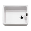 Franke Belfast BAK 710 Ceramic 1.0 Bowl Sit On Sink, White | 130.0050.116