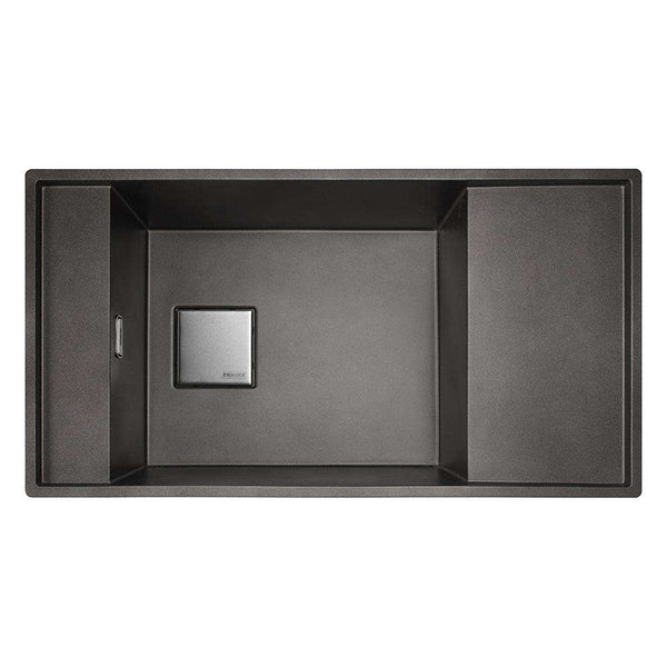 Franke Fresno FSG 111 Reversible Fragranite 1.0 Bowl Undermount Sink, Copper Grey | 135.0481.308