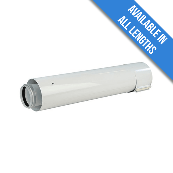 Glow-worm Flue Extension (60/100mm) - 0.5m
