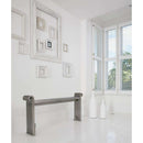 Aeon Grandeur Stainless Steel Designer Towel Rail with Towel Rail - GRA206P | 660mm x 2030mm | Polished | MADE TO ORDER