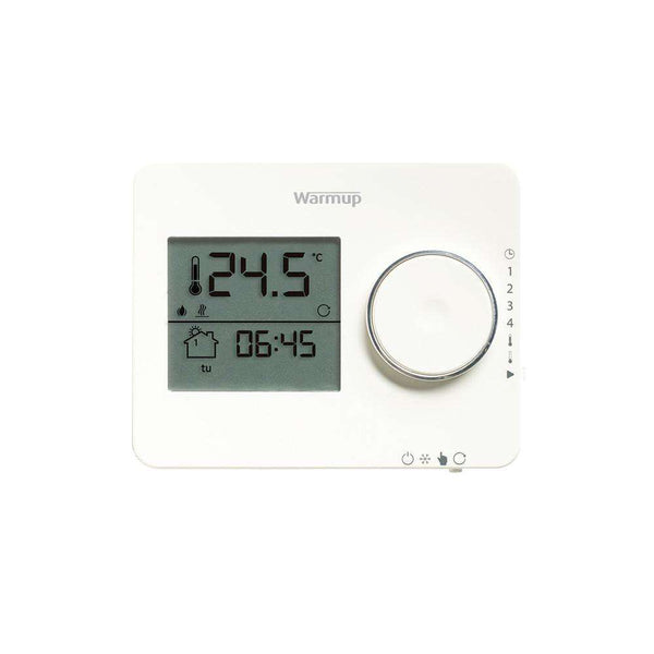 Tempo Digital Programmable Thermostat, Porcelain White