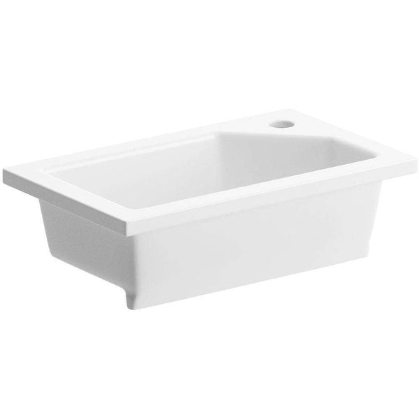 430mm x 260mm Compact Inset Basin Only