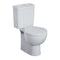 Ideal Standard E709101 Space Toilet Seat with Stainless Steel Hinges