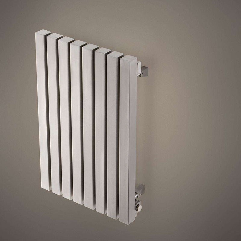 Aeon Kare: Type E Stainless Steel Designer Radiator - KRE866P | 600mm x 390mm | Polished | MADE TO ORDER