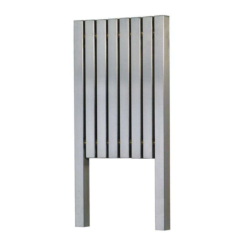 Aeon Kare: Type L Stainless Steel Designer Radiator - KRL2476P | 760mm x 1190mm | Polished | MADE TO ORDER