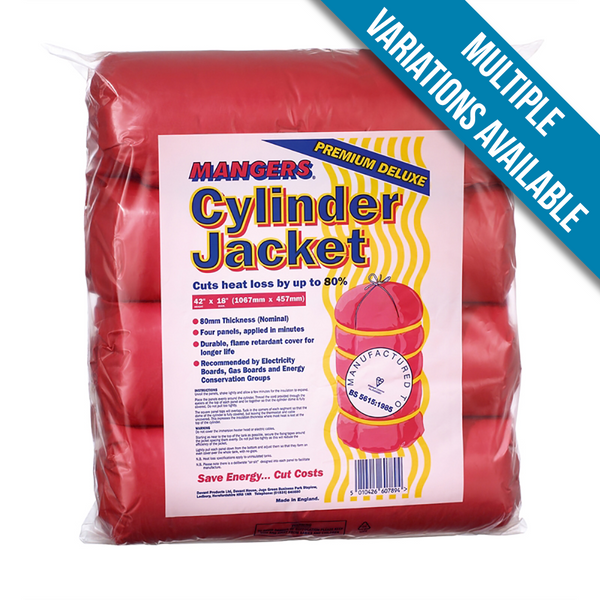 "Mangers Hot Water Cylinder Jacket - 42"" x 18"""