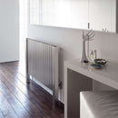 Aeon Marion: Type L Stainless Steel Designer Radiator - MAL1276S | 760mm x 630mm | Brushed
