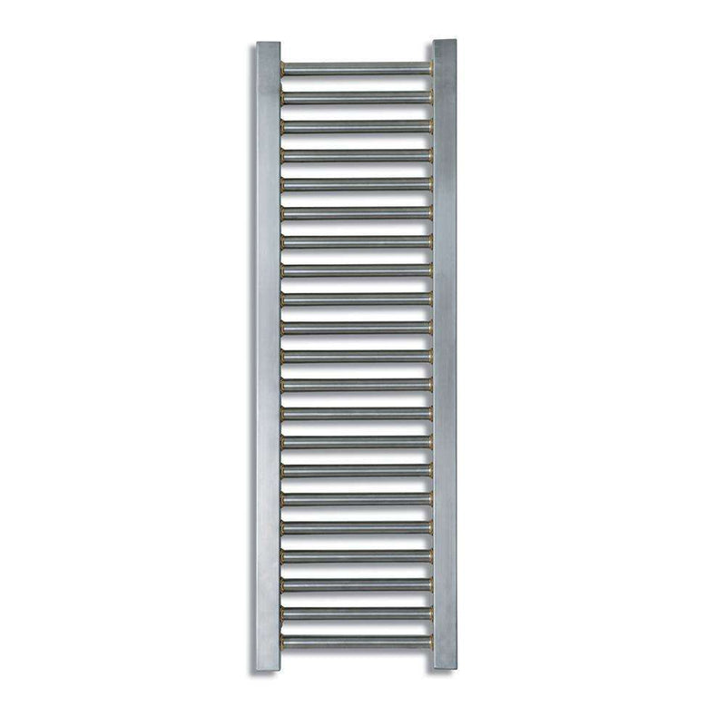 Aeon Meridien Stainless Steel Designer Towel Rail with Towel Rail - MER18S | 1800mm x 330mm | Brushed | MADE TO ORDER