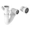 Prima+ 1 Bowl Plumbing Kit - White | CPR106