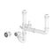Prima+ 2 Bowl Plumbing Kit - White | CPR108