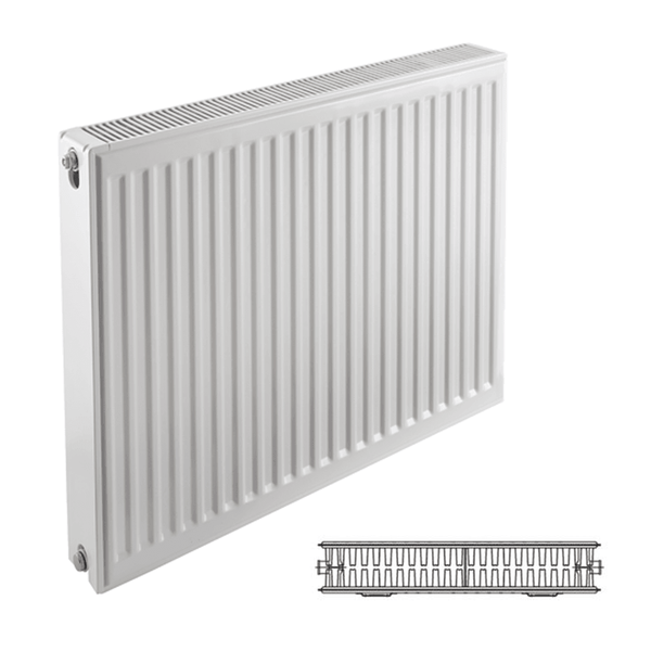 Prorad Type 22 Double Panel, Double Convector Compact Radiator - 600mm x 1300mm