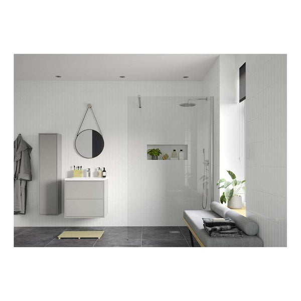 RefleXion 8 Wetroom Panel & Support Bar - 800mm