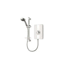 Triton Aspirante 9.5kW Contemporary Electric Shower, White Gloss