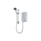 Triton T80Z Thermo Fast Fit Shower 8.5kW, White/Chrome