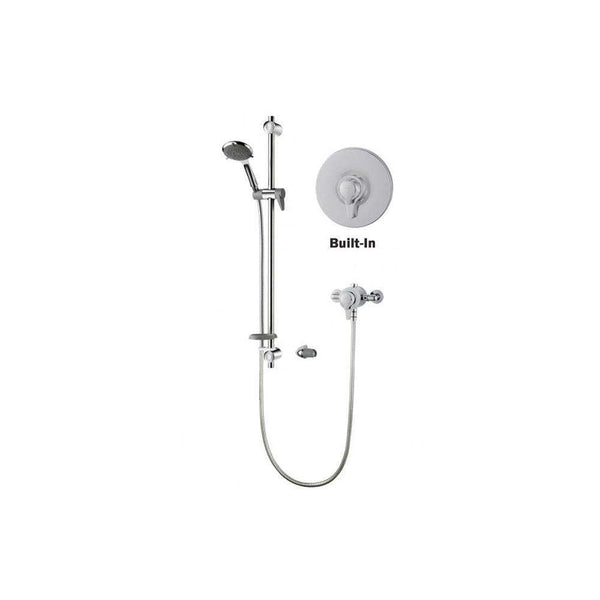 Triton Unichrome Eden Thermostatic Exposed Built In Mixer