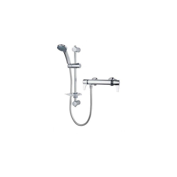Triton Exe Lever Bar Mixer Thermo, Chrome