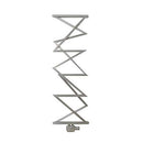 Aeon Zigzag Stainless Steel Designer Towel Rail - ZT155P | 1500mm x 500mm | Polished | MADE TO ORDER