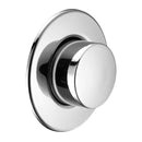 Ideal Standard S4463AA Pneumatic Single Flush Push Button, Chrome