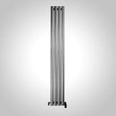 Aeon Mystic: Type E Stainless Steel Designer Radiator, Polished - MYE208P | 2000mm x 550mm | Polished | MADE TO ORDER