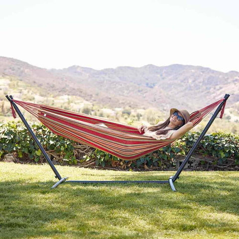 Hammock Stand with Portable Set