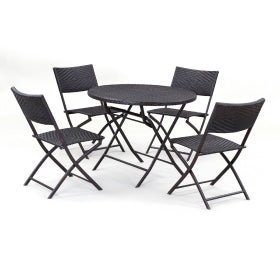 5 Pieces Outdoor Dining Set