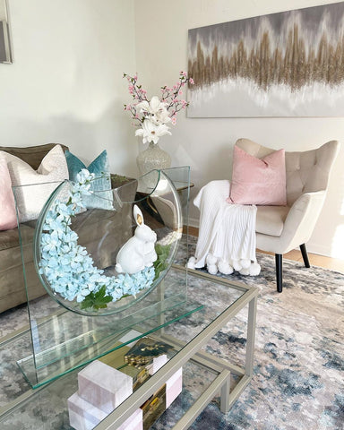 easter accent chair
