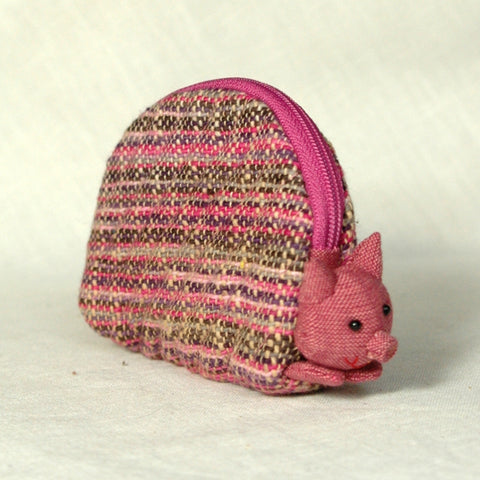 pink little piggy purse