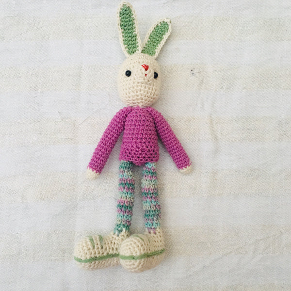 Long Legged crochet Bunny