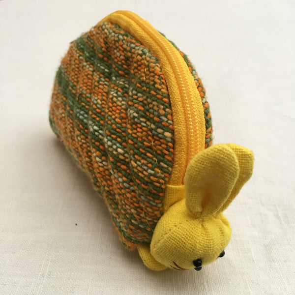 """Bounce Bounce"" lovely little inquisitive bunny purse"