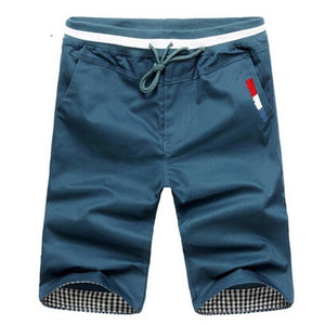 Men's Solid Low Waist Plain With Pocket Outdoor Shorts