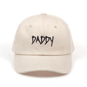 Men's Hip Hop Daddy Printed Letter Embroidered Adjustable Casual Hats