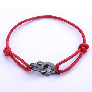 Men's 100% 925 Sterling Silver Thin Leather Strap Hook Strand Bracelet