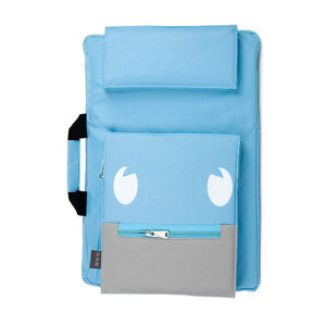 Kid's Canvas Multi-Pocket Waterproof Sketch Bifold Backpacks