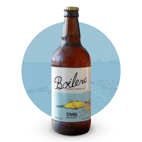 Boilers Golden Cornish Ale 500ml