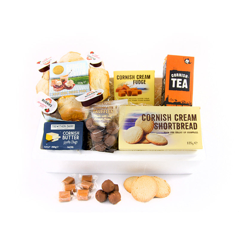 Complete Cornish Cool Box with Cornish Cream Truffles