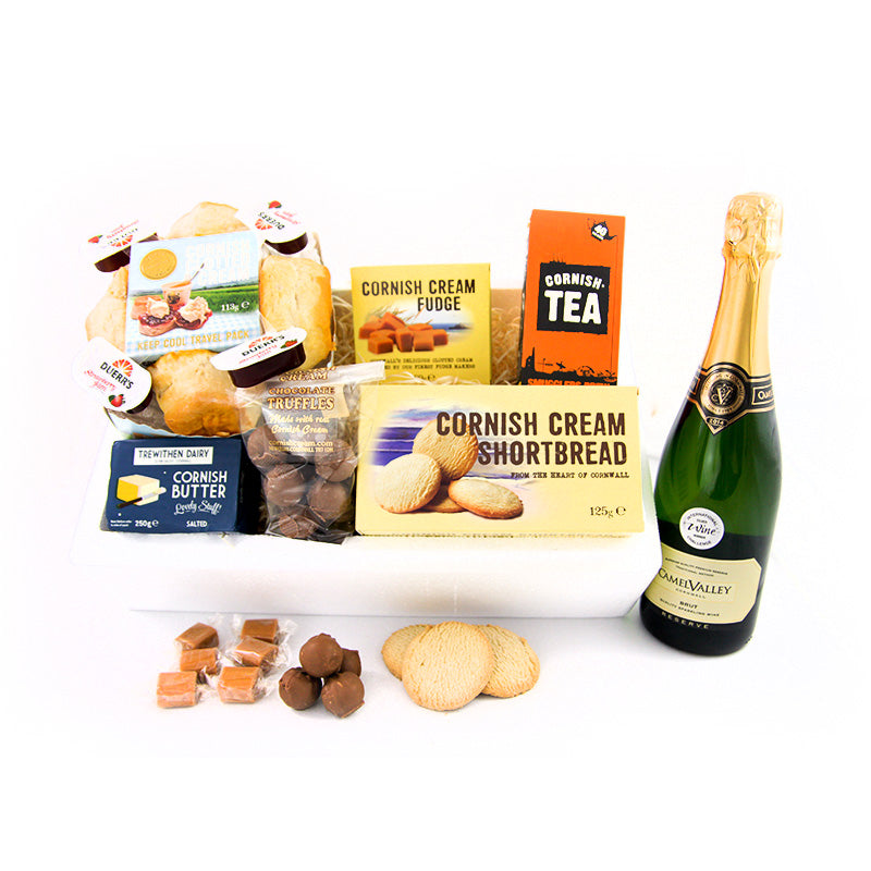 Complete Cornish Cool Box with 75cl Camel Valley Brut