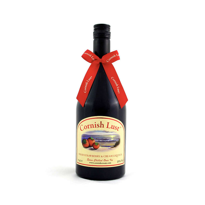 Cornish Lust  - Strawberry & Cream Liqueur 70cl