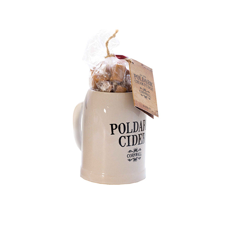 Poldark Cider Mug with 2 x 170g Cornish Cream Fudge