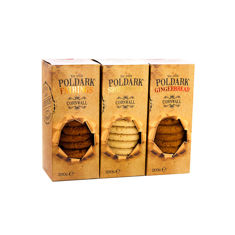 Poldark Biscuits Multi Pack 3 x 200g