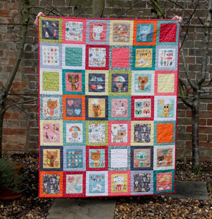 "Jane's ""Cool Cats"" Quilt"