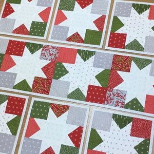 Stacey's Moda Merriment Table Runner and Placemats