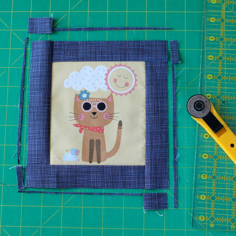 sewing partial seams quilting