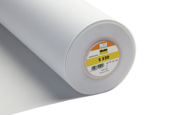 S520 Heavyweight Fusible Interfacing White 30cm wide by Vilene