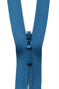 "Concealed Zip 23cm/9"" Col 557 Saxe Blue"